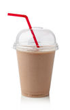 Chocolate milkshake Royalty Free Stock Image