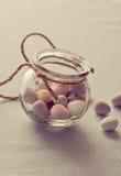 Chocolate Mini Eggs Stock Photos