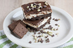 Chocolate Mint Bars Stock Images