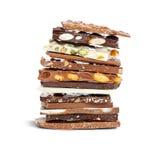 Chocolate mix Stock Photos