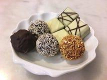 Chocolate , Mixed chocolate , Belgium chocolate. Chocolate Mixed chocolate , Belgium chocolate Stock Photo