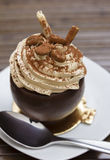 Chocolate mocha dessert Stock Image