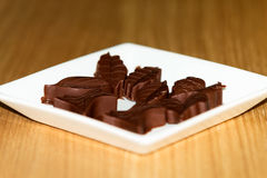 Chocolate Molds Royalty Free Stock Images