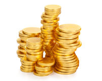 Chocolate money Stock Photos