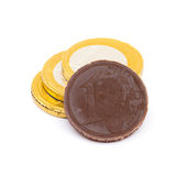 Chocolate Money Stock Photos