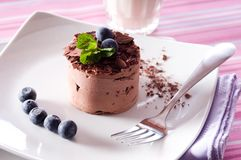 Chocolate Moose Royalty Free Stock Images