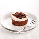 Chocolate moose cake Royalty Free Stock Photos