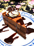 Chocolate moose cake Stock Images