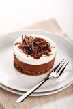 Chocolate moose dessert Royalty Free Stock Image