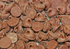 Chocolate Morsels Royalty Free Stock Images