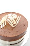 Chocolate Mouse Cake Royalty Free Stock Photo