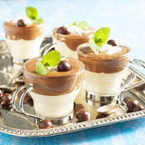 Chocolate mouse. Stock Images