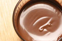 Chocolate mousse Stock Photo