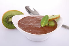 Chocolate mousse Stock Photography