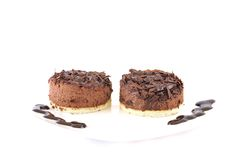 Chocolate mousse. Stock Image