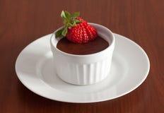 Chocolate mousse Stock Photos