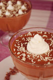 Chocolate mousse 3 Stock Photo