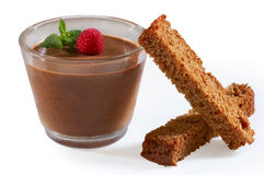 Chocolate mousse Royalty Free Stock Photo