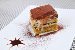 Chocolate Mousse Cake Stock Photos