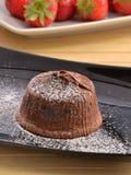 Chocolate mousse cake Royalty Free Stock Photos