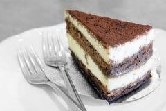 Chocolate mousse cake Stock Image