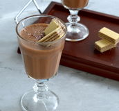 Chocolate mousse Royalty Free Stock Photos