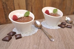 Chocolate Mousse stock photos