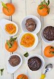 Chocolate mud cakes Stock Image