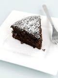 Chocolate Mudcake Stock Image