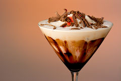 Chocolate Mudslide Royalty Free Stock Photography