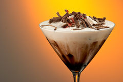 Chocolate Mudslide Stock Photo