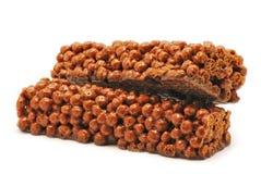 Chocolate Muesli Bars Stock Photography