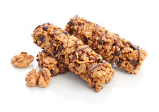 Chocolate Muesli Bars Stock Images