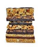 Chocolate Muesli Bars Royalty Free Stock Images