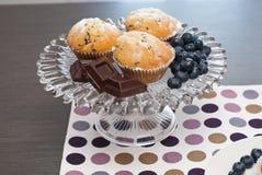 Chocolate muffin Stock Photos