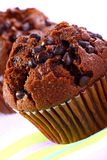 Chocolate muffin. A freshly baked chocolate muffin Royalty Free Stock Image