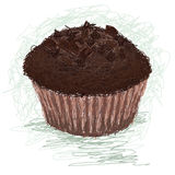 Chocolate-muffin Royalty Free Stock Photo