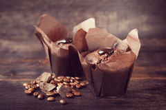 Chocolate muffin Royalty Free Stock Photo