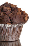 Chocolate muffin. Close-up form a chocolate muffin Royalty Free Stock Image
