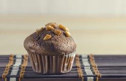 Chocolate muffin cake Royalty Free Stock Image