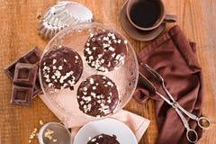 Chocolate muffin. Stock Photography
