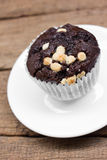Chocolate muffin. Stock Image