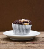 Chocolate muffin. Royalty Free Stock Photography