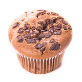 Chocolate muffin isolated Stock Photo