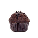 Chocolate muffin isolated Royalty Free Stock Photo