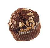 Chocolate muffin isolated Royalty Free Stock Image