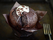 Chocolate Muffin. A perfect teatime snack Stock Photography