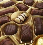 Chocolate muffin sweet cake food dessert praline Stock Image