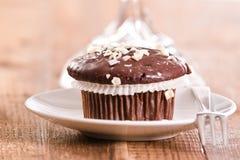Chocolate muffin. Royalty Free Stock Photo