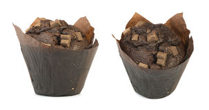 Chocolate muffin Royalty Free Stock Photography